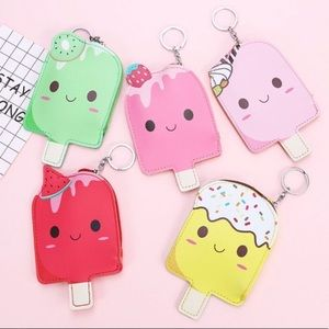Accessories - 3 Popsicle Keychain Pouches